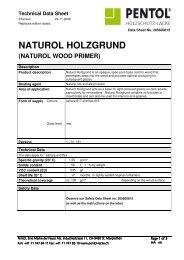 NATUROL HOLZGRUND