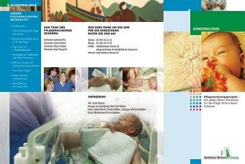KINDERKLINIK 5 KINDERKLINIK - Städtisches Klinikum Dessau