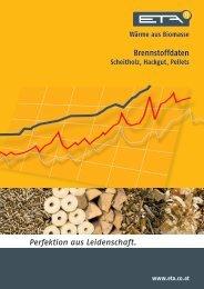 Broschuere - Brennstoffdaten - Wolfgang Klein - Bad Heizung Solar
