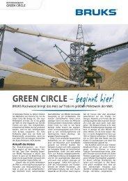 green circle - Bruks