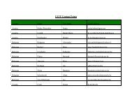 UEVP Contact Points