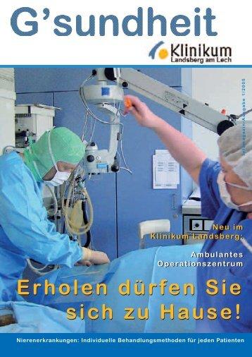 Klinikmagazin 18.5.2005 - Klinikum Landsberg am Lech