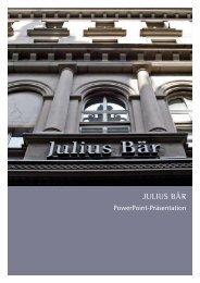 JULIUS BÄR - Epure