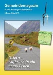 Ostern - luth. Kirchengemeinde Sittensen