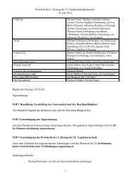 Protokoll der 1. Sitzung des 51. Studierendenparlaments