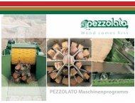 PEZZOLATO Maschinenprogramm - Pezzolato spa