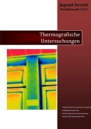 Thermografische Untersuchungen - Jufo Hermannsburg