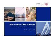 """Zukunft Kiel 2030"" im Rahmenplan Kieler Förde - Landeshauptstadt ..."