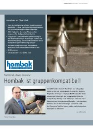 Hombak Maschinen - Siempelkamp
