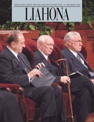 November 2002 Liahona - Kirche Jesu Christi der Heiligen der ...