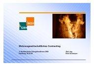 Wohnungswirtschaftliches Contracting - vdw
