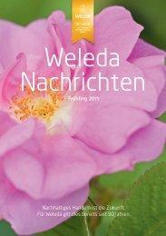 Jubiläums-Ausgabe Frühling 2011 - Weleda