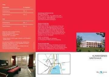 Broschüre (PDF) - Klinikum Starnberg