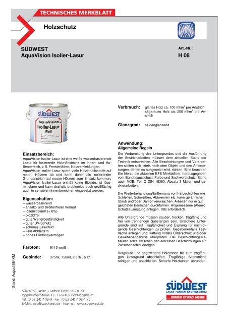 TM Isolierweiss - Farbenhaus Metzler Onlineshop