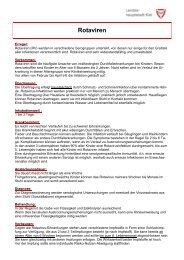 Informationsblatt: Rotaviren - Landeshauptstadt Kiel
