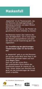 13_01_14_Flyer Maskenfall VS.indd - Klinikum am Weissenhof - Page 2