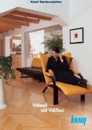 Knauf Gipsfaserplatten Vidiwall und Vidifloor 3474 KB