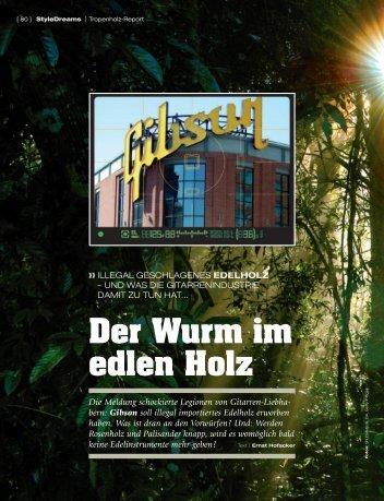 Edelholz-Report - Ernst Hofacker