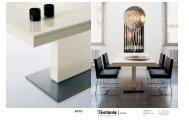 Artu Dining Table by Tisettanta - Specification Sheet - Cimmermann