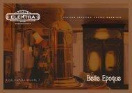 Elektra - Espressomaschinen Belle Epoque - Katalog ... - EXQUISIT24