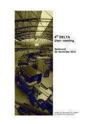 8 DELTA - Delta - TU Dortmund