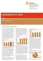 lAgeberichT 2012 - Holzbau Deutschland