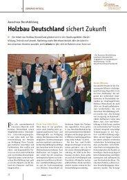 mikado-Artikel, Ausgabe 1-2/2011 - Holzbau Deutschland