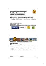 Vortrag zum Download - Holzbau Deutschland