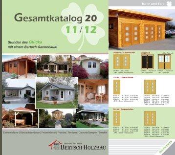 Katalog - Bertsch Holzbau GmbH