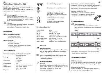 VARDA-Flex / VARDA-Flex-IP68 - Rutec