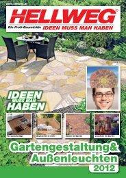 Gartengestaltung& Außenleuchten - Hellweg
