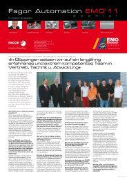 Fagor Automation EMO'11