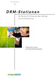 Drm-Stationen - Erdgas Zürich AG