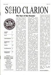 @%HO CLARION - The Soho Society