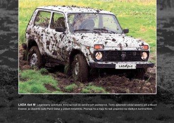 LADA 4x4 M Legendárny automobil, ktorý sa hodí do ... - lada-auto.sk