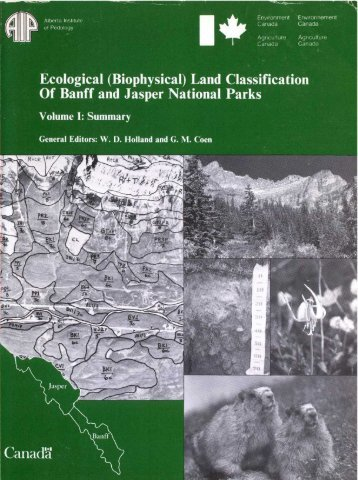 Ecological (Biophysical) Land Classification Of Banff and Jasper ...