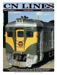 CN LINES V12N3 - Canadian National Railways Historical Association