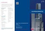 ALUMINIUMPROFILE - Klöckner Stahl