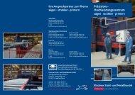 Säge Flyer Frankfurt - Klöckner Stahl