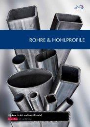 Broschüre Rohre & Hohlprofile - Klöckner Stahl