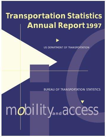 Transportation Statistics Annual Report1997 - BTS