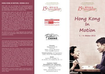 Hong Kong Film Festival Berlin Flyer - Hong Kong Economic and ...