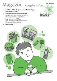 Magazin im PDF-Reader öffnen - DGSL