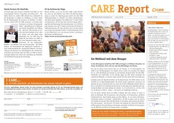 CARE Report 2/2012 (4,7 MB, PDF - CARE Deutschland e.V.