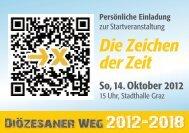 Einladungskarte Startveranstaltung 14. 10. 2012 - Katholische ...