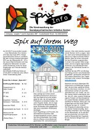 Download Ausgabe September - November 2007 - Spix eV