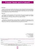 Kontaktschrift des Priesterseminars Sitten - Diocèse de Sion - Page 6