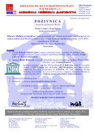 pozivnica - Hrvatska kulturna zajednica Wiesbaden