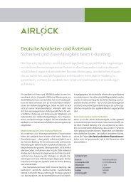 Deutsche Apotheker - Ergon Informatik AG