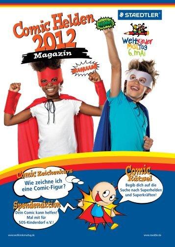 Weltkindermaltag-Magazin zum Download
